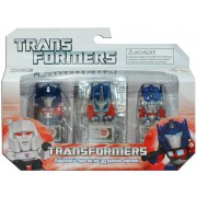Transformer: Gyűjthető Figurák és 3D Puzzle Elemek 3 db-os