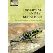 Observing Animal Behaviour by Marian Stamp Dawkins