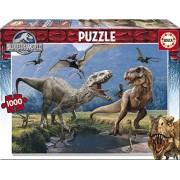 Puzzles Educa - Puzzle con diseño Jurassic World, 1000 piezas (16342)