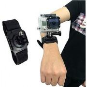 SublimeWare - 360 Degree Rotation Arm Strap Mount for Gopro wrist mount for Gopro the strap for GoPro Wrist Strap for Gopro Hero3 Hero3+ Hero4 Hero5 Black Session HD SJCAM SJ4000 SJ5000 Xiami Yi