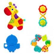Inicia brillantes - 4 Piezas - DIVERDIENTES - Baby Gift Set
