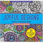 Joyful Designs Artist's Coloring Book by Joy Ting