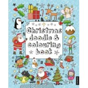 Christmas Doodle and Colouring Book by Jude Exley