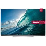 "Televizor OLED LG 165 cm (65"") OLED65E7V, Ultra HD 4K, Smart TV, webOS 3.5, WiFi, CI+ + Subwoofer Activ LG SWH1, 40 W (Negru) + Voucher Cadou 1 Pizza gratuita la Trattoria Buongiorno"