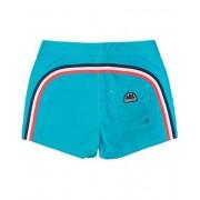 Sundek Rainbow Mid Length Swim Shorts Light Blue