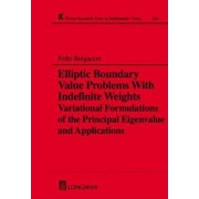 Elliptic Boundary Value Problems with Indefinite Weights by Fethi Belgacem