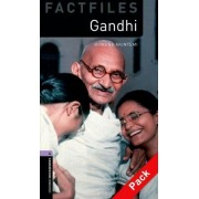 Oxford Bookworms Library Factfiles: Level 4: Gandhi Audio CD Pack: 400 Headwords by Rowena Akinyemi