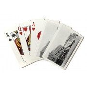 Aurora, Nebraska North Side View Of Town Square (Playing Card Deck 52 Card Poker Size With Jokers)