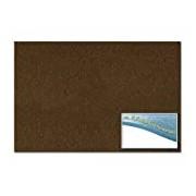 Folia 510385 - Felt 30 x 45 cm, ca. 3.5 mm, 1 Sheet, Chocolate Brown