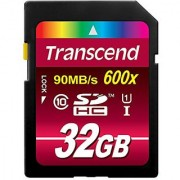 Transcend 32 Gb High Speed Class 10 Uhs Flash Memory Card Up To 90 Mb/S Ts32Gsdhc10U1
