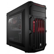 Corsair CC-9011052-WW Carbide Series SPEC-03 Steel Red LED Mid-Tower Gaming Case (Black)