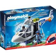 PLAYMOBIL - ELICOPTER DE POLITIE CU LED (PM6921)