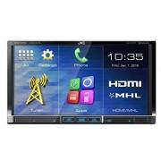 JVC KW-V51BTE Cargador de CD para coche (USB, HDMI, Radio, pantalla LCD), negro