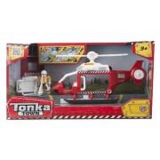 Tonka Città - Rescue Helicopter, azione giochi per bambini, rosso e bianco (HTI VHTI_1415925)