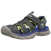 Sandale Skechers Relix gri albastru