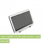 LCD (B) 7'' HDMI cu Carcasă Bicoloră