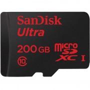 Cartão de Memória MicroSDXC SanDisk Ultra - 200GB