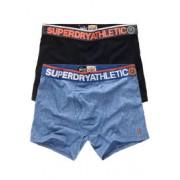Superdry Dubbelpak sportieve Athletic boxers