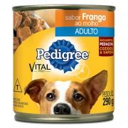 Alimento Enlatado Para Cães Adultos Pedigree Vital Pro Sabor Frango Lata 290g