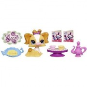 Littlest Pet Shop Sweetest Treats and Tea Party Shop Playset with #3010 Dog by Hasbro 4+