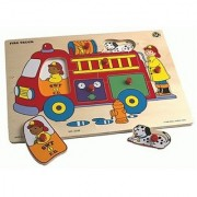 Small World Toys Ryan's Room Wooden Puzzle - Fire Truck