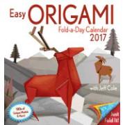 Easy Origami Fold-A-Day 2017 Calendar
