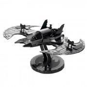 Puzzle DIY 3D Modelo de los juguetes educativos Ensamblado del ala del palo - Negro