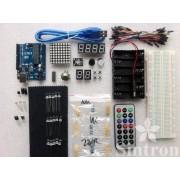[Sintron] New! Medium Uno R3 Starter Kit For Arduino Avr Mcu Learner.