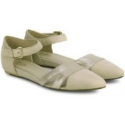 Clarks Coral Sunrise Oyster Leather Casual(Beige)