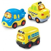 VTech Go! Go! Smart Wheels - Little Commuter Vehicles 3-pack