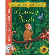 Julia Donaldson Monkey Puzzle: Book and CD Pack