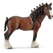 Schleich North America Clydesdale Gelding Toy Figure