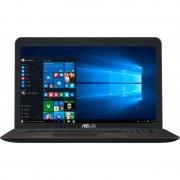 "Notebook Asus X756UB, 17.3"" HD+, Intel Core i5-6200U, 940M-2GB, RAM 4GB, HDD 2TB + SSD 16GB, FreeDOS, Maro"