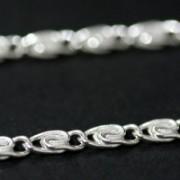 Corrente de Prata 925 em Elos 45 cm / 2 mm