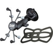 "RAM Twist Lock Suction Cup Mount with Universal X-Grip Cradle for 7"" Tablets"