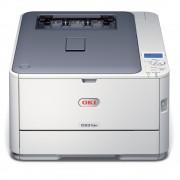 Imprimanta laser color OKI C531dn, A4, USB, Retea