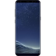 "Telefon Mobil Samsung Galaxy S8 Plus, Procesor Octa-Core 2.3GHz / 1.7GHz, Super AMOLED Capacitive touchscreen 6.2"", 4GB RAM, 64GB Flash, 12MP, 4G, Wi-Fi, Android (Midnight Black) + Cartela SIM Orange PrePay, 6 euro credit, 4 GB internet 4G, 2,000 minute n"