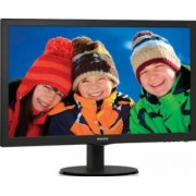 Monitor LED 21.5 Philips 223V5LSB2 Full HD 5ms Negru Lucios