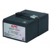 Apc Premium Replacement Battery Cartridge 1 Yr Wty (Onbattery Only) [RBC6]