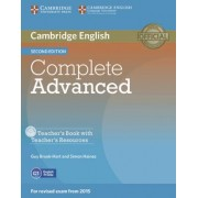 Complete Advanced - Second edition. Teacher's Book with Teacher's Resources CD-ROM by Guy Brook-Hart