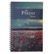 Notebook Wirebound My Prayer Notes