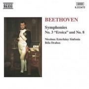 L Van Beethoven - Symphonies Nos.3 & 8 (0730099447522) (1 CD)