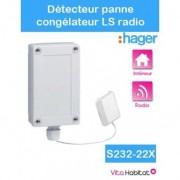 HAGER Détecteur de panne de congélateur - Logisty Hager - S232-22X