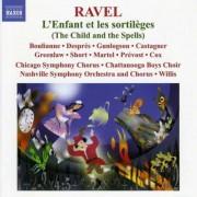 M. Ravel - L'enfant Et Les Sortilege (0730099021579) (1 CD)