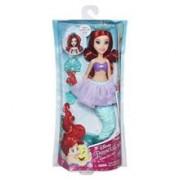 Papusa Disney Princess Bubble Tiara Ariel