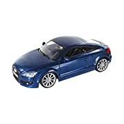 """Motormax GOTZMM73177BU 1:18 Scale Blue """"2007 Audi TT Coupe"""" Die Cast Model Car"""