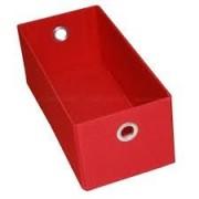 Caixa Box Multifuncional Porta CD Vermelho - Acasa