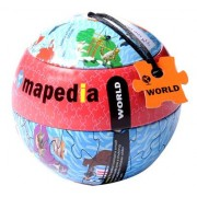 Legpuzzel Wereld 100 stukjes   Mapedia