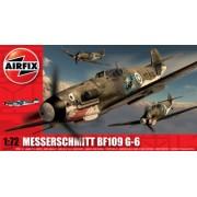 Airfix - Messerschmitt BF 109 G-6, juguete de aeromodelismo (Hornby A02029)
