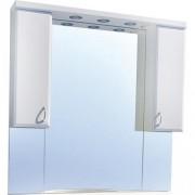 Oglinda baie cu iluminare Sanotechnik Sanremo Lux 105, 101 x 102